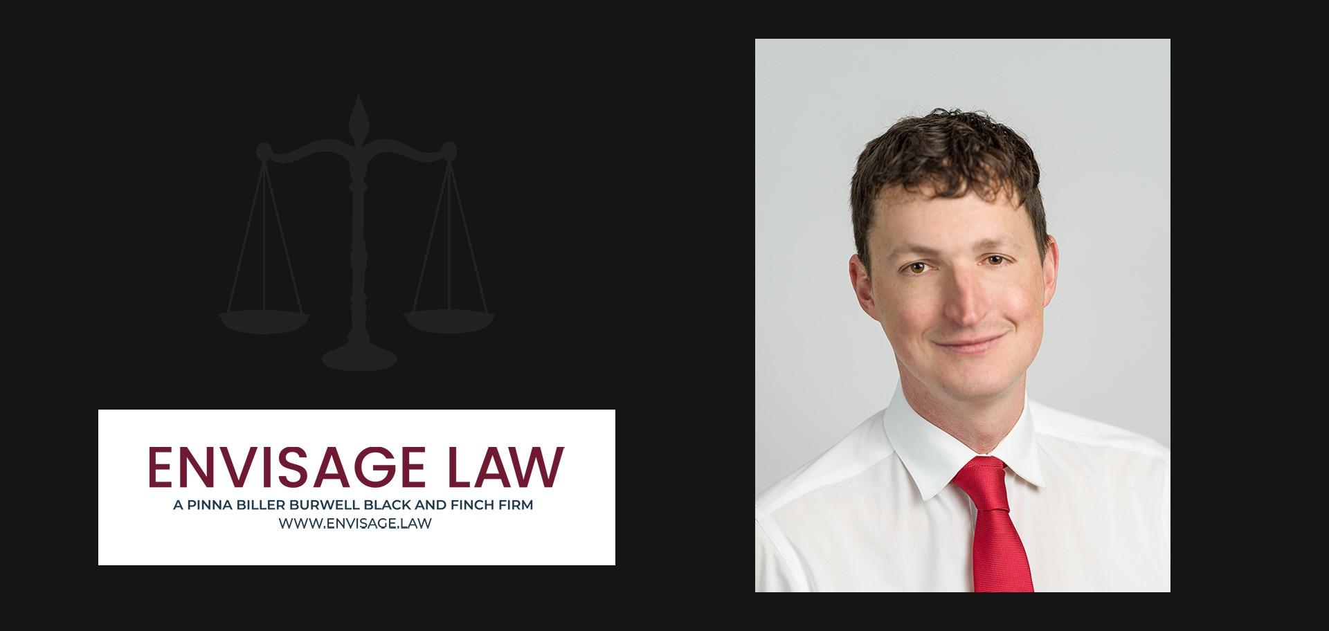 James Lawrence joins Envisage Law